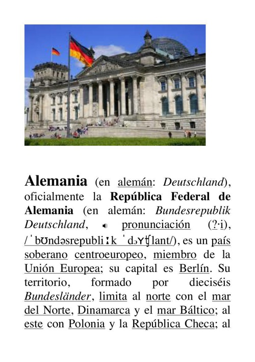 Prueba 1 Alemania