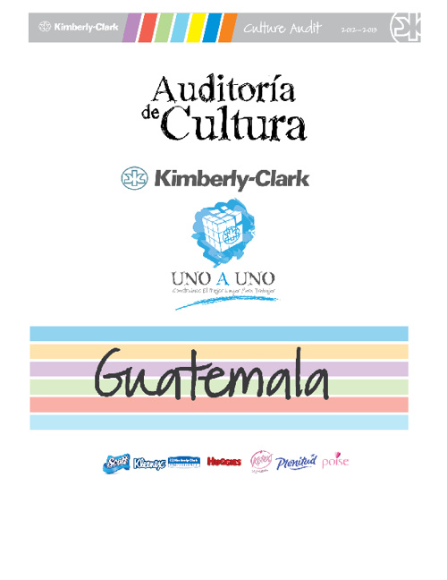 Culture Audit 2012 - Guatemala