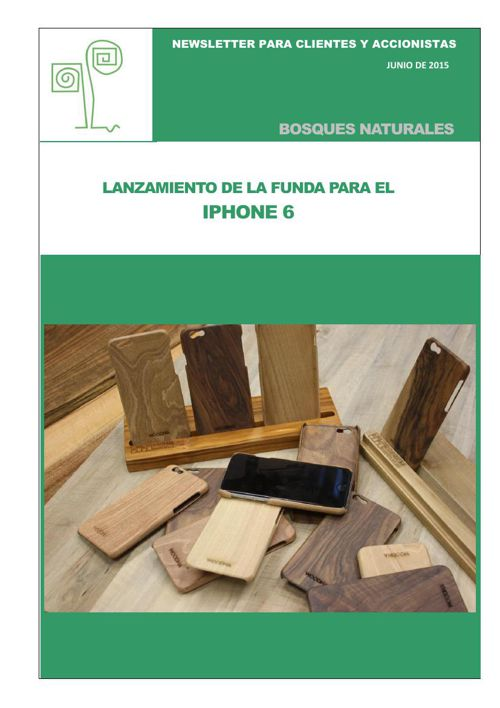 Newsletter Bosques Naturales junio de 2015