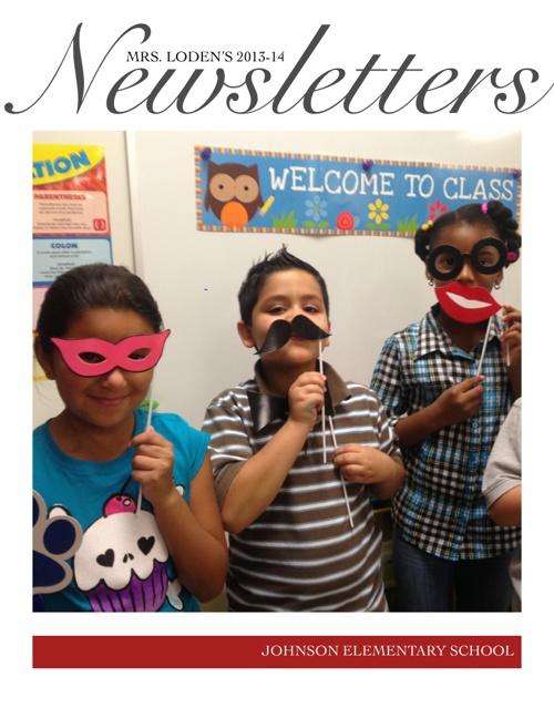 Mrs. Loden's 2013-2014 Newsletters