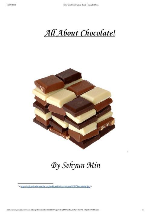 Sehyun's Non-Fiction Book - Google Docs