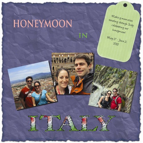 Honeymoon to Italy