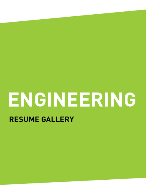 Resume Gallery (ENGINEERING)