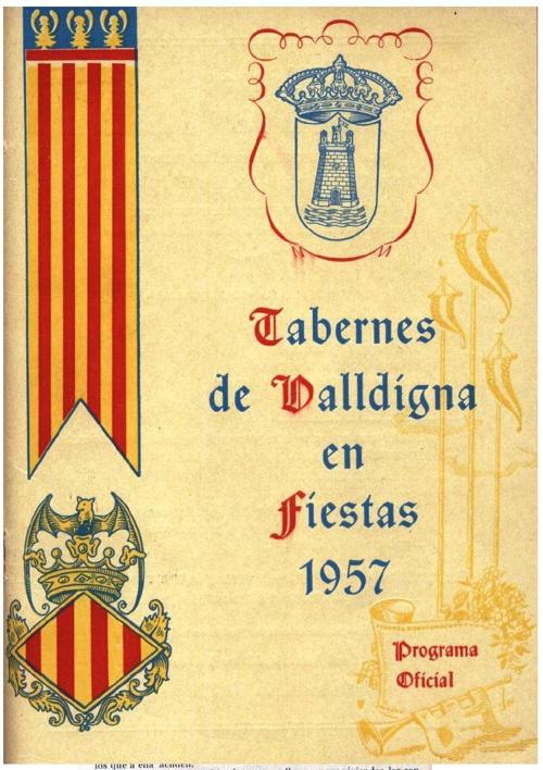 Libro fiestas 1957