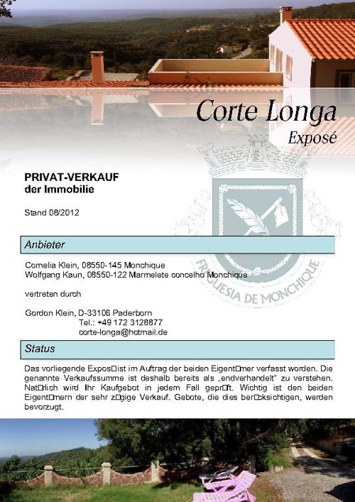 Exposé CORTE LONGA deutsch