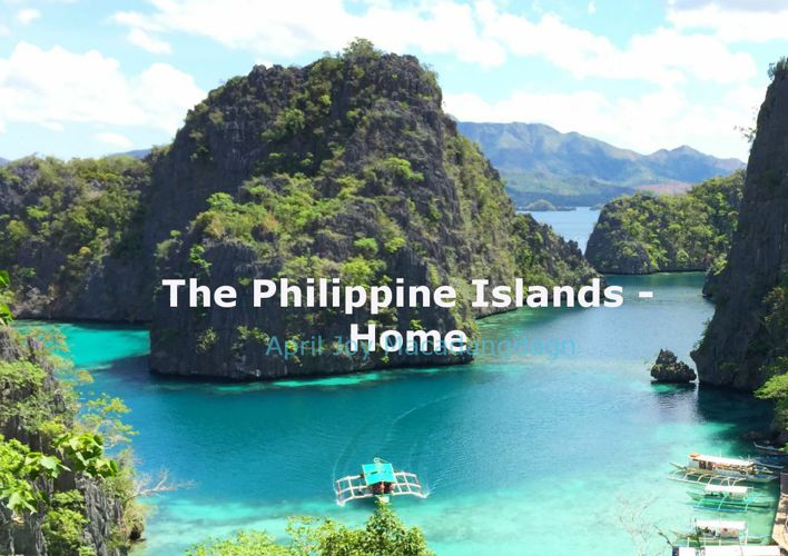 The Philippine Islands - Home