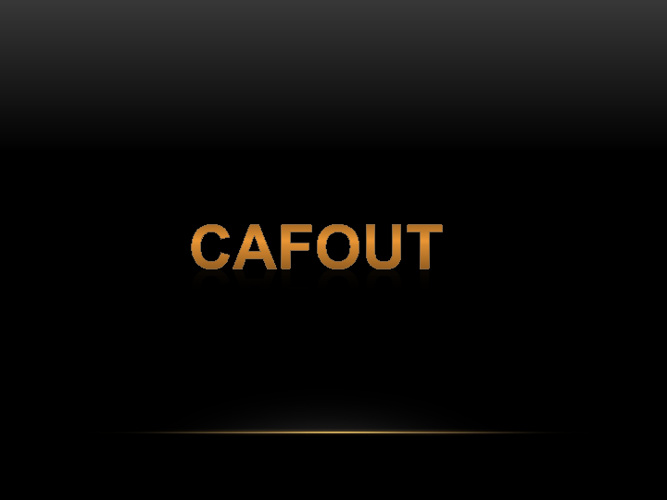 cafout