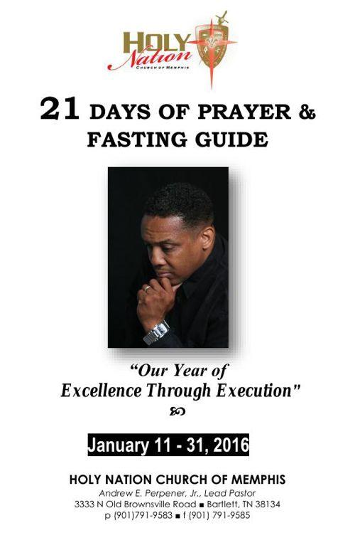 Holy Nation Church of 21 DAYS OF PRAYER 2016