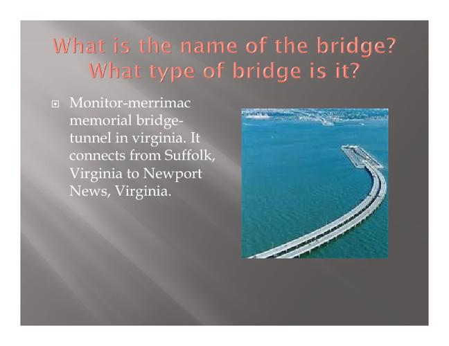 Monitor-merrimac memorial bridge-tunnel