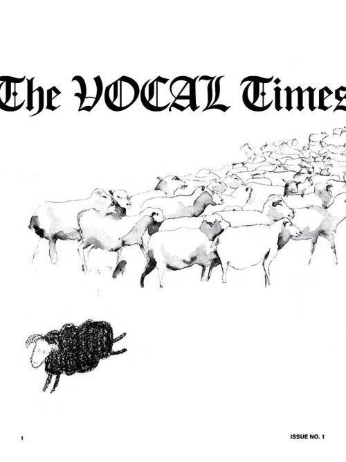 THE VOCAL TIMES – Issue No.1