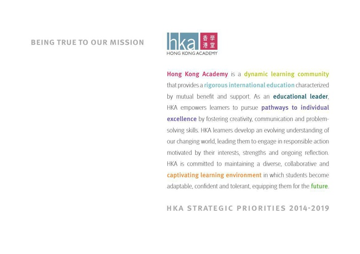 HKA Strategic Plan 2014-2019