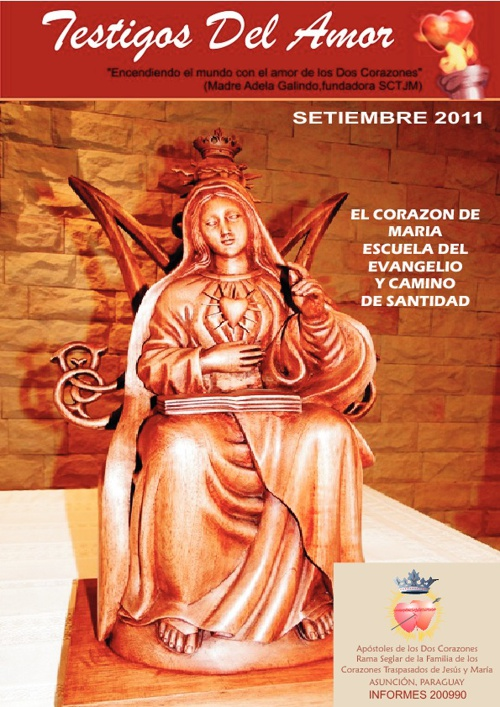 Revista Testigo del Amor - Setiembre  2011