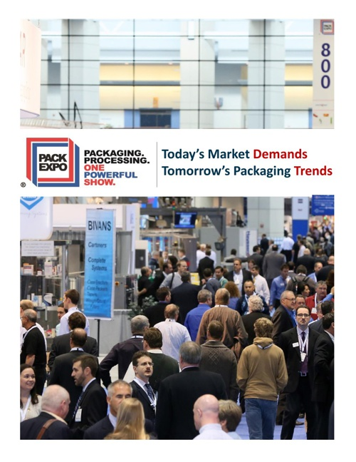 PMMI Trends at Pack Expo