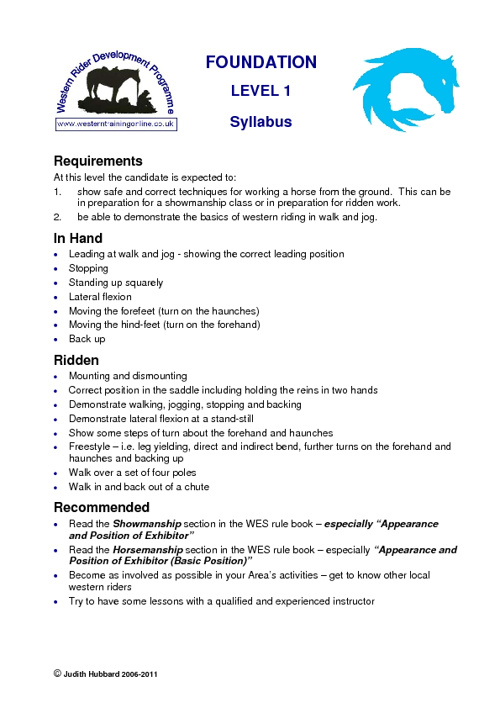 WRDP Syllabus and notes
