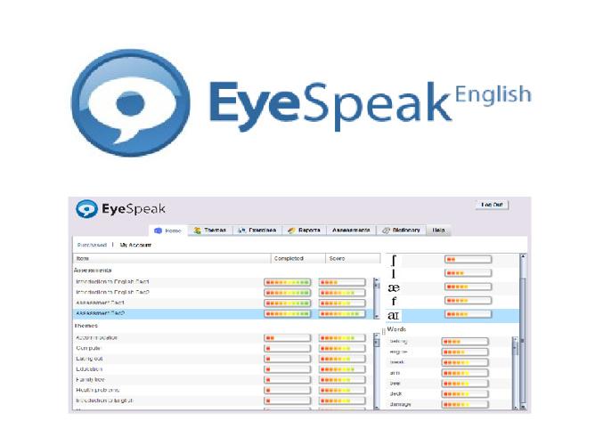 Eyespeak Presentation