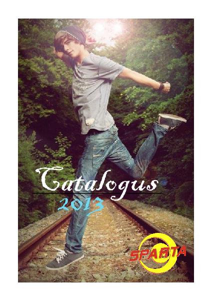 Catalogus Sparta 2012 - 2013