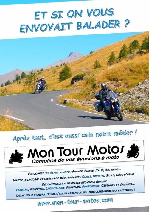 Brochure 2014 des voyages moto Mon Tour Motos