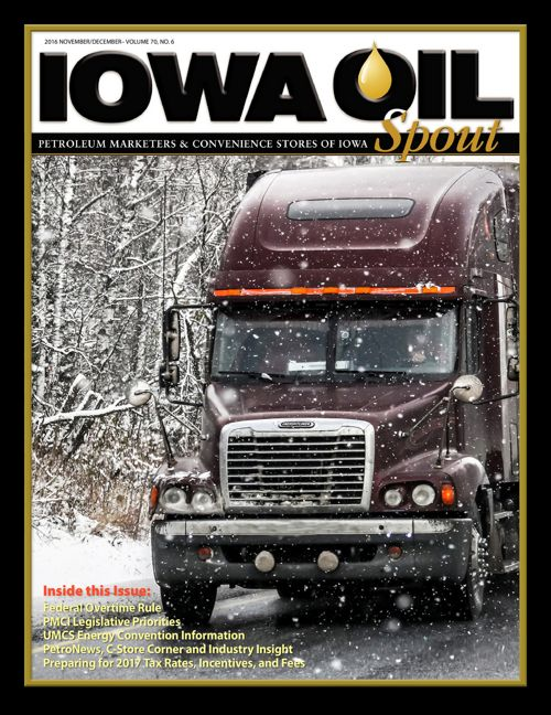 2016 Iowa Oil Spout - November/December