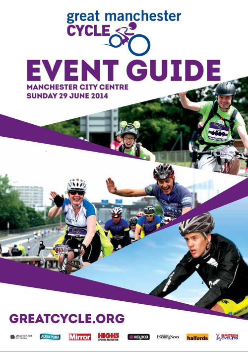 Great Manchester Cycle 2014 Event Guide