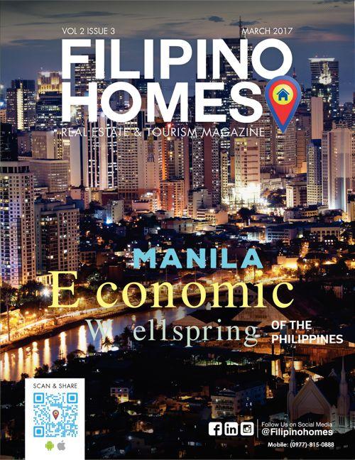 Filipino Homes Real Estate & Tourism Magazine Vol 2 Issue 3