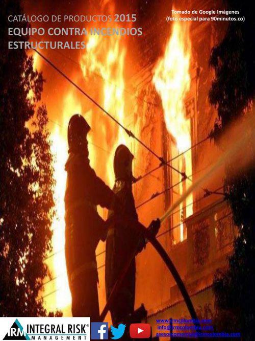 Eq. contra incendios Estructurales