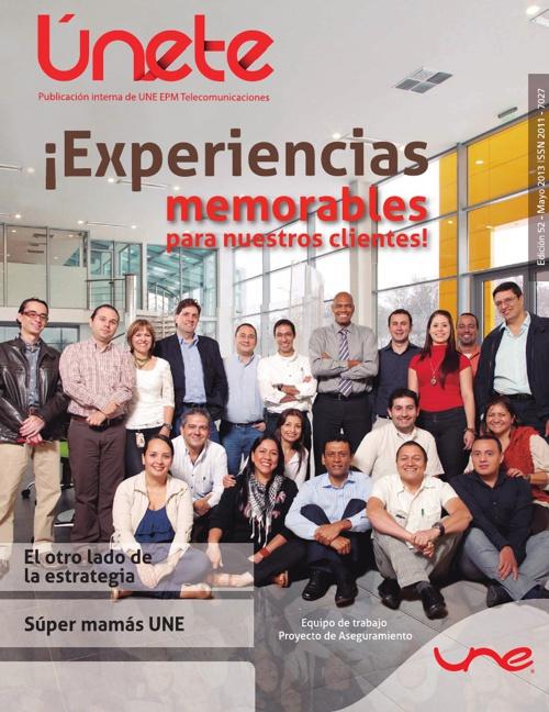 Revista Únete - Edición #52 - Mayo de 2013