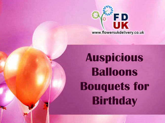 Auspicious Balloons Bouquets for Birthday