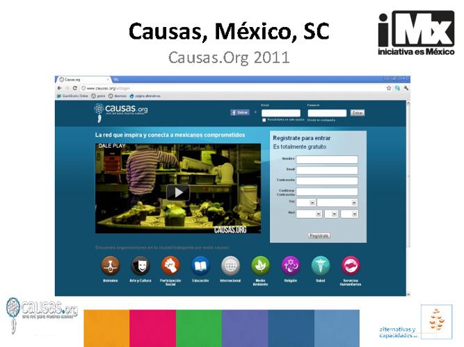 RF - Causas México - Causas.Org2011