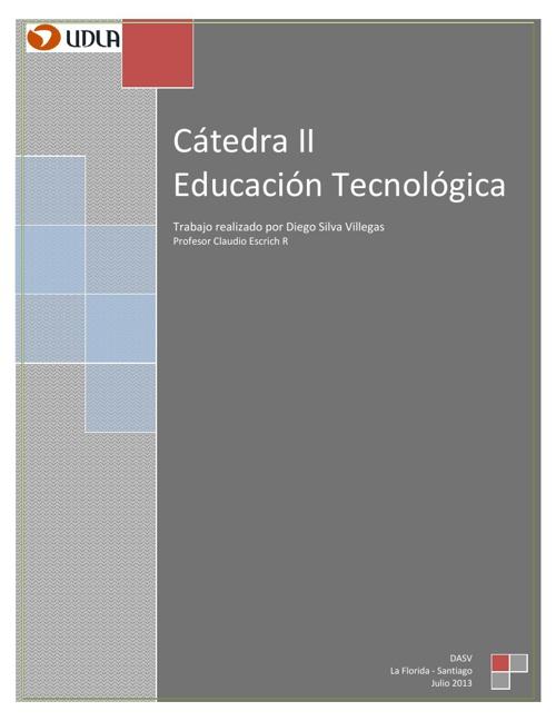 Catedra II Tecnología