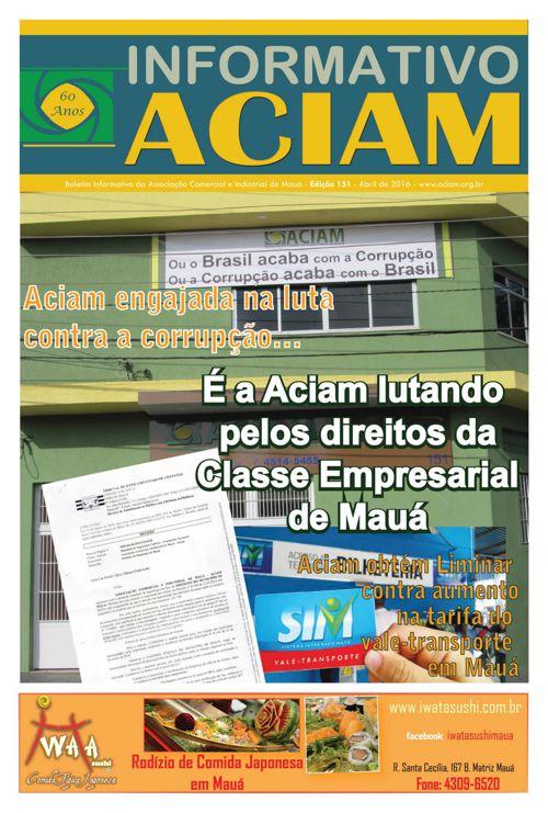 Informativo Aciam 151 - Abr/2016