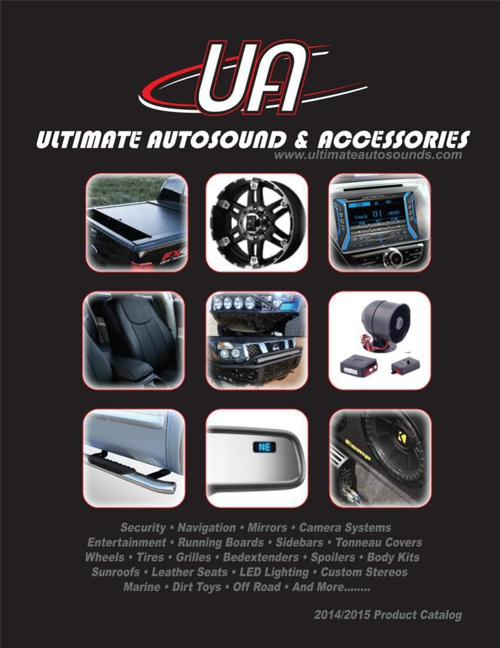 Ultimate Autosounds Product Catalog 2014/15