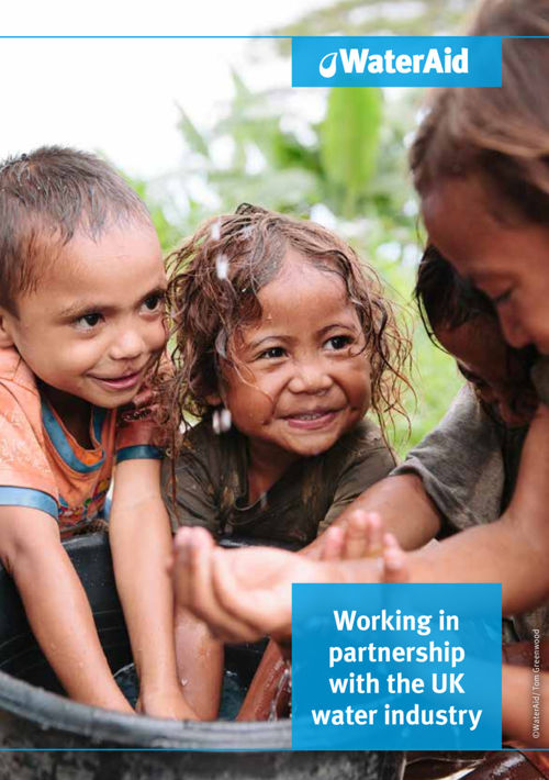 WaterAid and the UK water industry