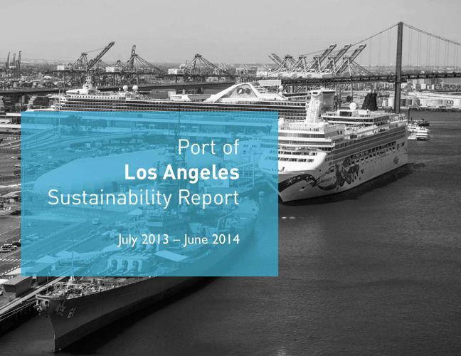 Port of Los Angeles Sustainability Report