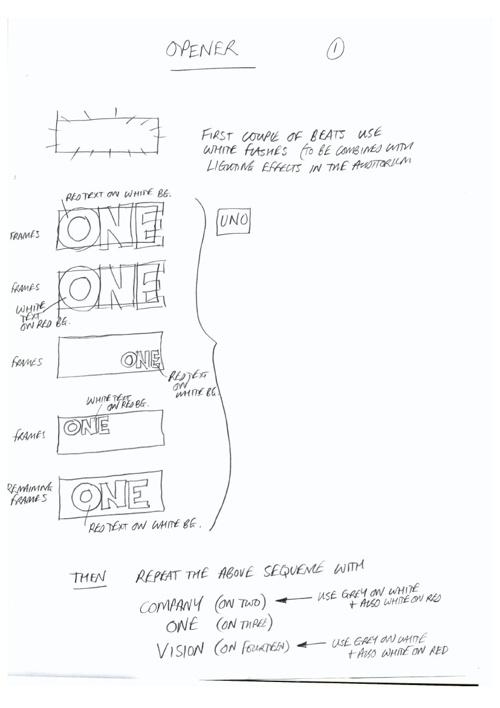 Opener Storyboard
