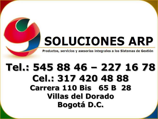 Productos Soluciones ARP  2014