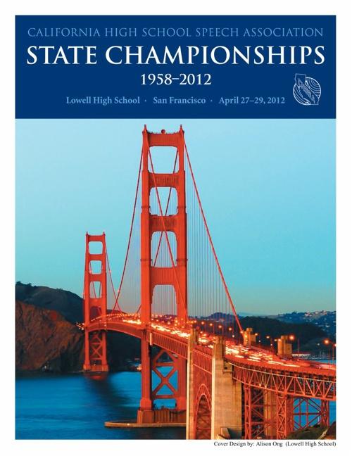 CHSSA State Championship Programs 2014