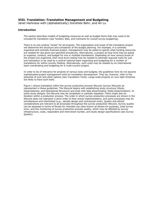CCSG - 8d. Translation - Translation Management and Budgeting