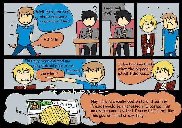 Copyright Comic