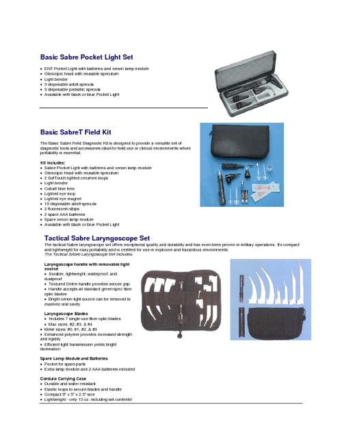 Sabre Medical Instruments Inc