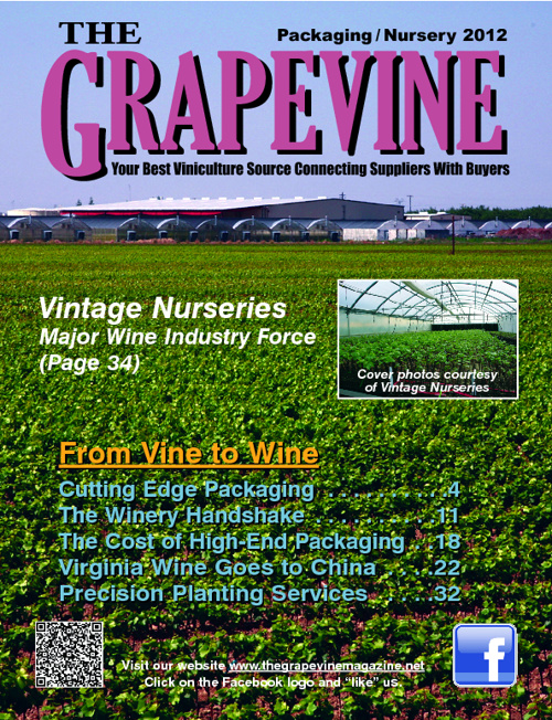 The Grapevine Magazine: Packaging / Nursery 2012