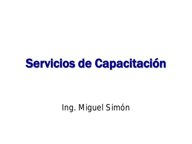 MS - Servicios de Capacitación