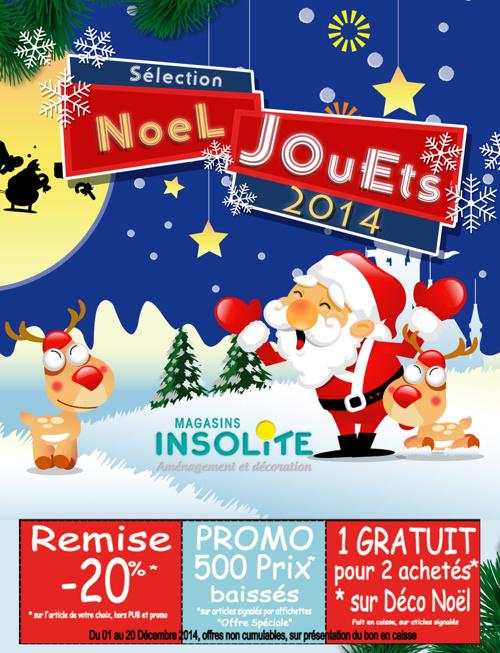 Catalogue Jouets de Noël Magasin Insolite