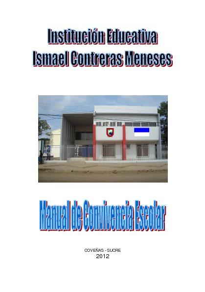 MANUAL DE CONVIVENCIA 2012