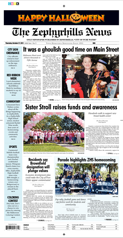 Zephyrhills News Sample