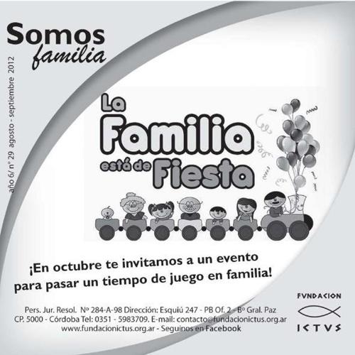 "Boletín ""Somos Familia"" N°29 - 2012"