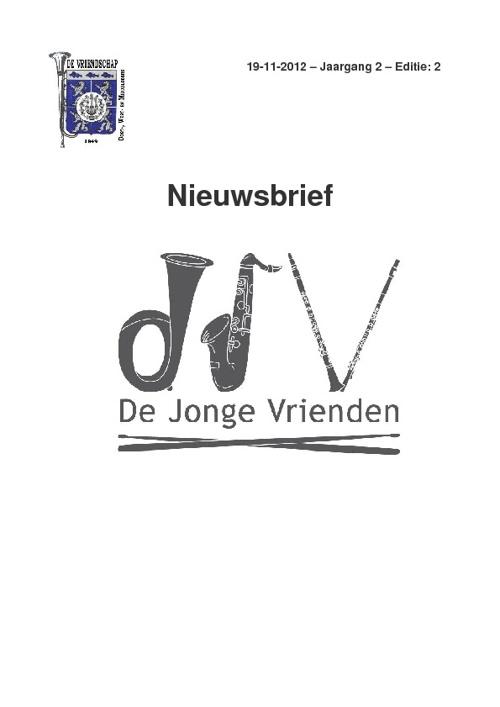 Nieuwsbrief DJV