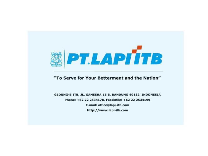 2_Profile_PTLAPI_ITB_Indonesia