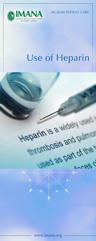 Use of Heparin