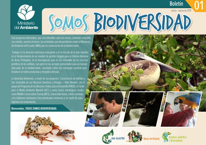Boletín SOMOS Biodiversidad