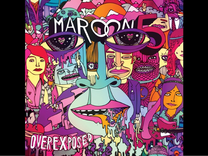 DIGITAL ALBUM ART-MAROON 5 (OVEREXPOSED)
